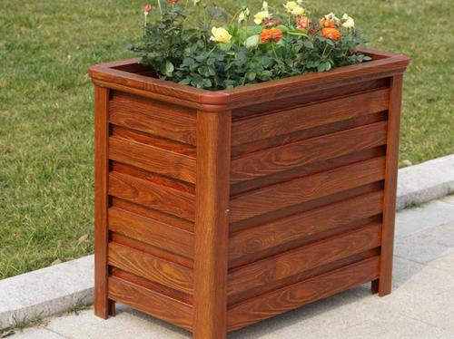 木纹铝合金花箱