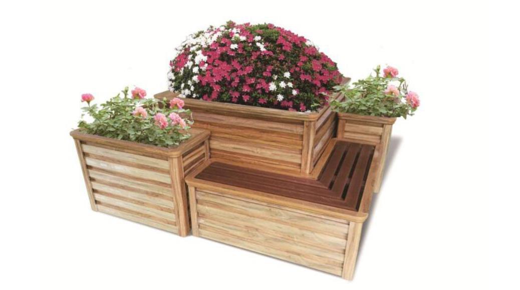 铝合金花箱种植