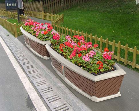 PVC景观花箱