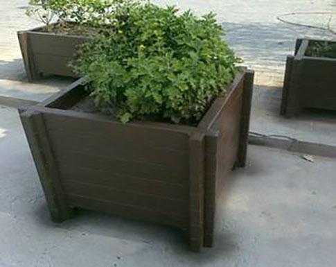 仿木水泥花箱