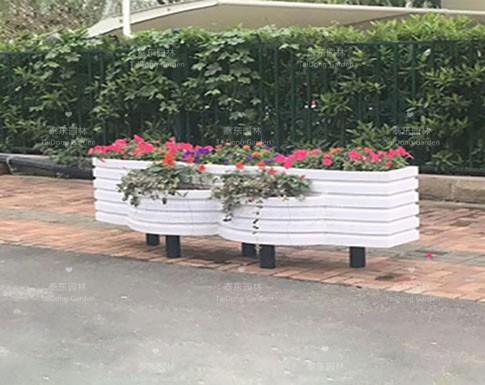 室外塑料花箱