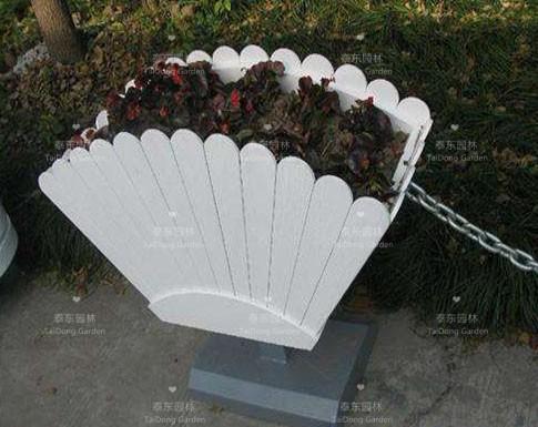 PVC扇形花箱