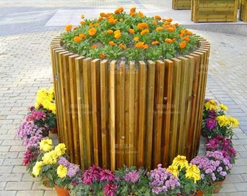 安徽防腐木花箱
