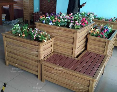 座椅组合花箱