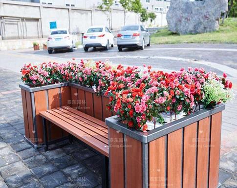 塑木组合花箱