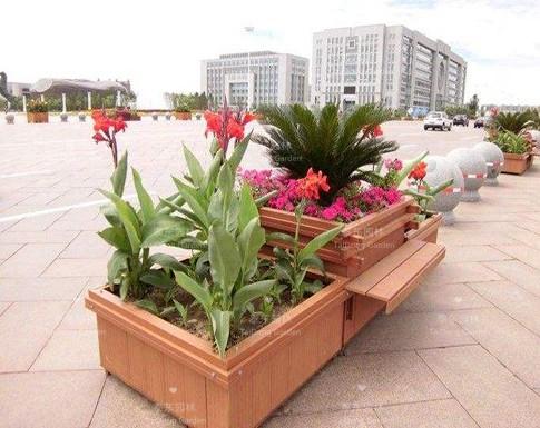 塑木景观花箱