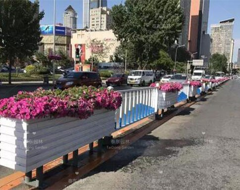 道路花箱护栏