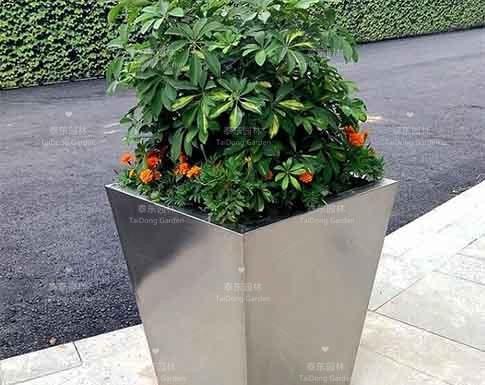 不锈钢花箱
