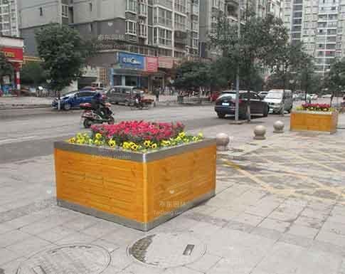 城市景观花箱