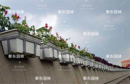 高架桥玻璃钢花箱