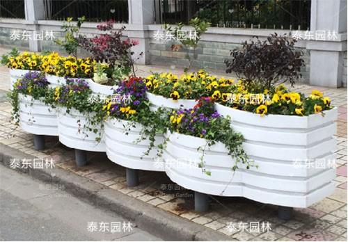 PVC公园花箱
