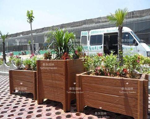 水泥绿化花箱