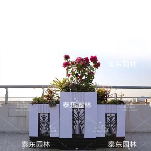户外景观花箱