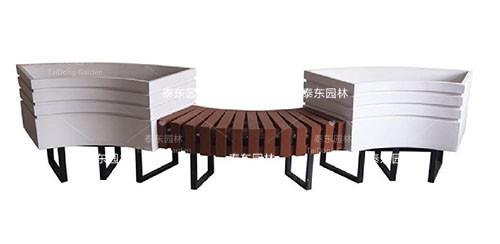 园林花箱座椅