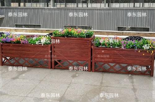室外长方形花箱