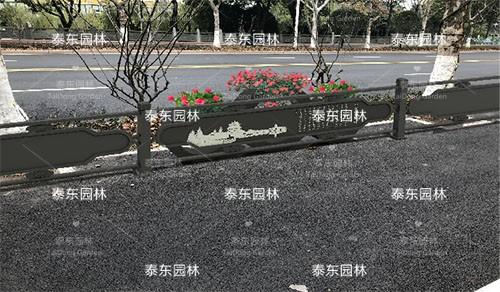 道路隔离花箱护栏